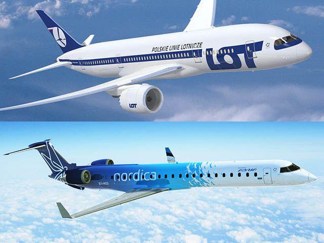 Estonie : LOT Polish Airlines investit dans Nordica