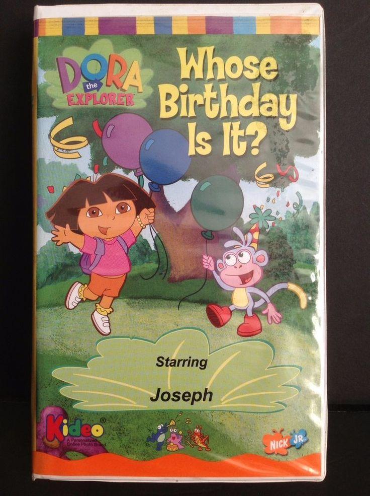 Opening to Dora the Explorer Christmas 2002 VHS - YouTube