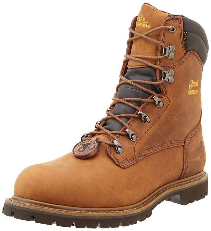 Chippewa Men's 8' Waterproof Insulated Steel Toe 55069 Lace Up Boot ** Review more details here : Men's boots
