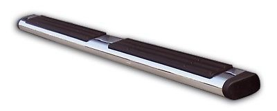 """Go Rhino 660087PS Xtreme OE Style Side Bar Polished Stainless Oval Length 87"""""""