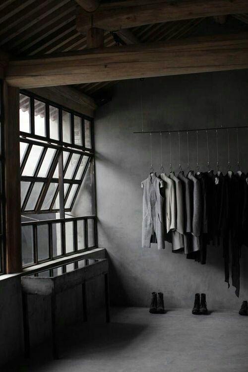 cloth storage maskuline grey modern pale