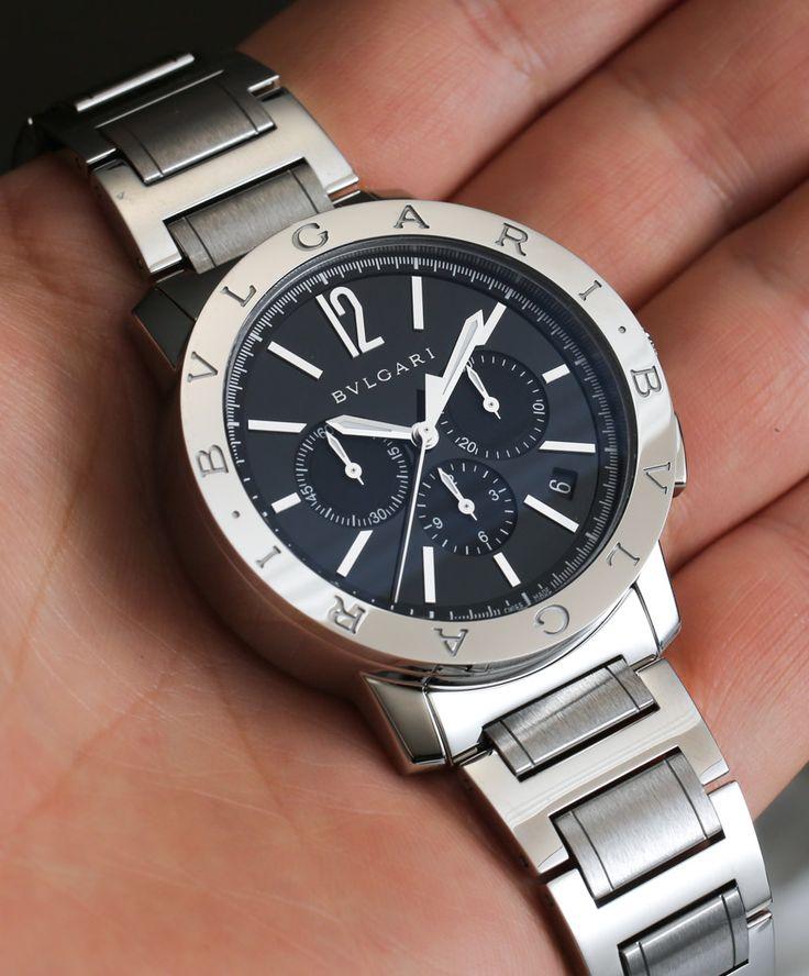 Bulgari Bulgari Chronograph Watch Review