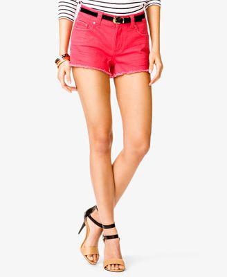 Distressed Denim Shorts #Forever21  #Shorts