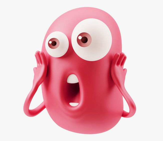 Surprised Face Expression Face Surprised Human Face Png And Vector With Transparent Background For Free Download Surprise Face Face Expressions Emoticon