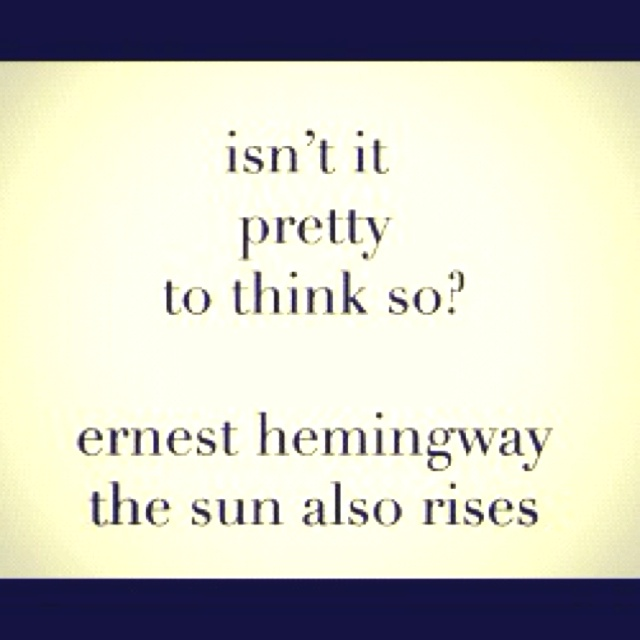 the sun also rises 5 essay After a thorough reading and in-depth analyzation of ernest hemingway's riveting novel the sun also rises, the character of brett ashley may be seen in a number of different ways while some critics such as mimi reisel gladstein view brett as a 'circe' or 'bitch-goddess,' others such as carol h.