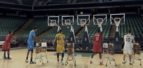 El divertido spot navideño de la NBA
