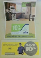 How to get a 10% off Lowe's Coupon!