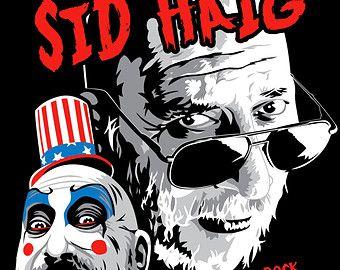 Sid Haig Devil's Rejects Tutti Fuckin Fruity | Sid Haig Captain Spaulding t-shirt