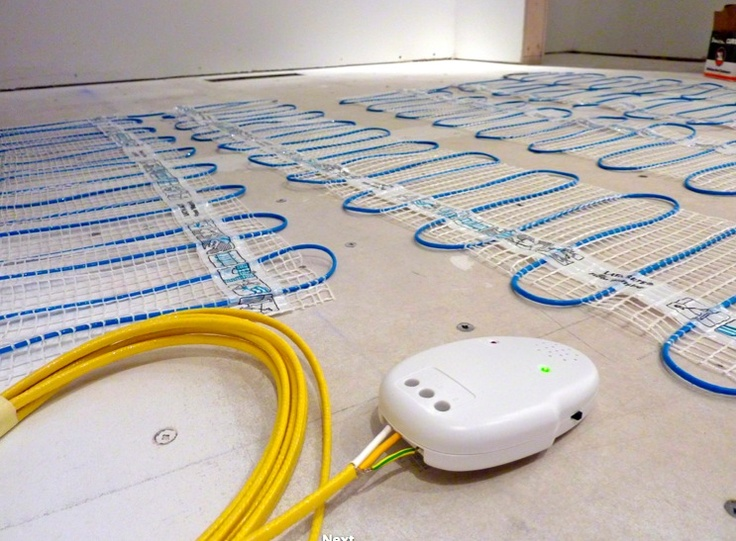 Image Of DFM researched radiant floor heating for you