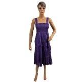 "Womens Dress Boho Cotton Royal Blue Multiwear Strap Dress or Long Skirt 36"" (Apparel)  #Dress"