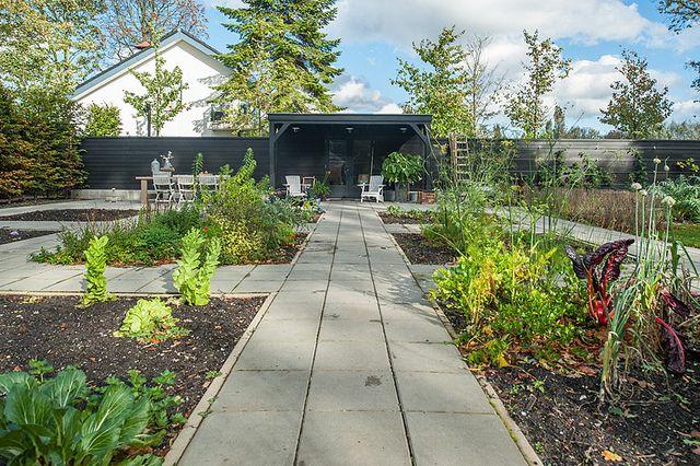 #Vredenoord #Rijswijk #DenHaag #GVBarchitecten #restauratie #buitenplaats - moestuin en tuinschuur