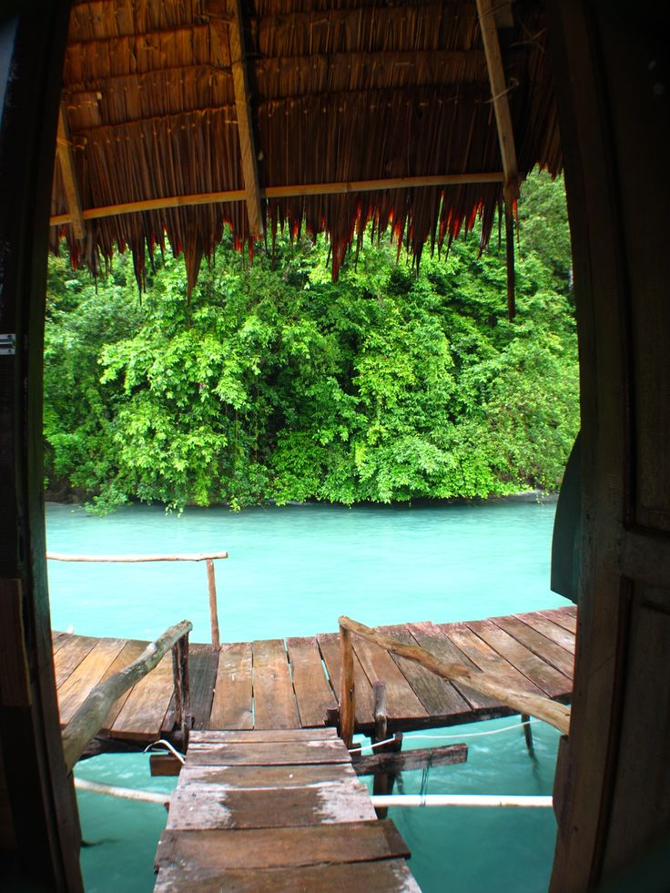 View from my room, Ora Beach Resort, North Mollucas, Indonesia