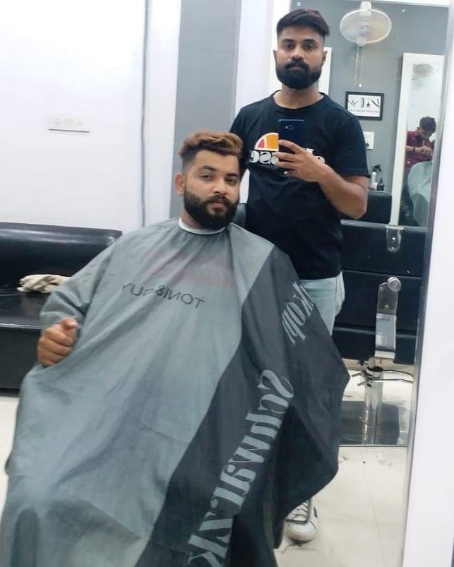 Haircut done @hairport_salon_sirsa @mens_wear_tailors #hairportsalonsirsa #ha…, #beards
