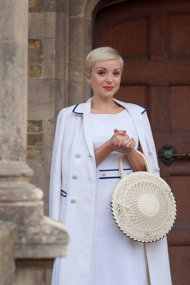 "Helen George as Trixie ""Nurse"" Franklin in Call the Midwife, Season 3"
