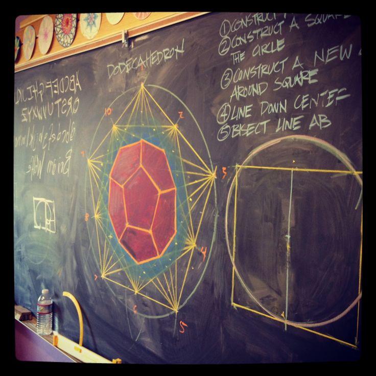 8th grade Geometry :: Brian Wolfe, Davis Waldorf School