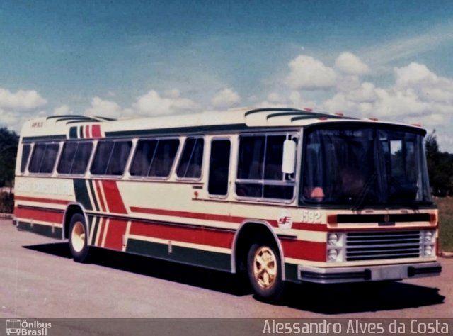 Ônibus da empresa Auto Viação São Cristovão, carro 1592, carroceria Nielson Diplomata 2.40, chassi Scania B111. Foto na cidade de Joinville-SC por Alessandro Alves da Costa, publicada em 24/09/2016 17:49:12.