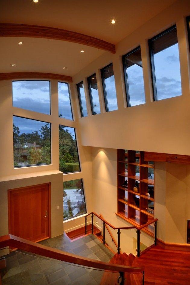 house located in victoria bc canada modern interior design
