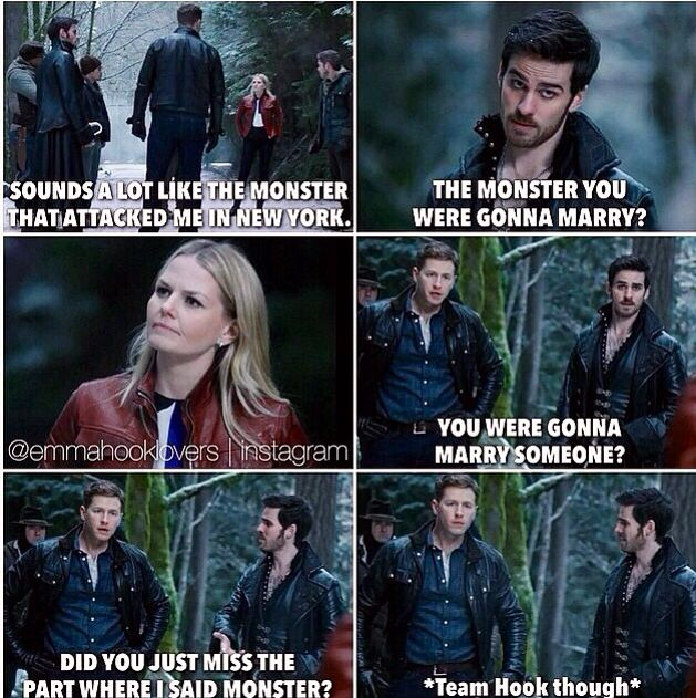 Once upon a time. Hook is so funny :)
