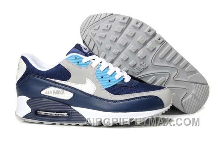 http://www.airgriffeymax.com/discount-where-can-i-buy-nike-air-max-90-mens-running-shoes-on-sale-the-black-white-grey-blue.html DISCOUNT WHERE CAN I BUY NIKE AIR MAX 90 MENS RUNNING SHOES ON SALE THE BLACK WHITE GREY BLUE Only $103.00 , Free Shipping!