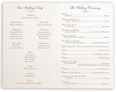 The 25+ best Wedding processional order ideas on Pinterest Order - wedding program inclusions