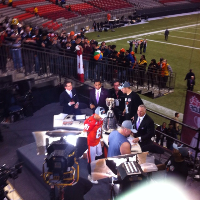 After the grey cup win