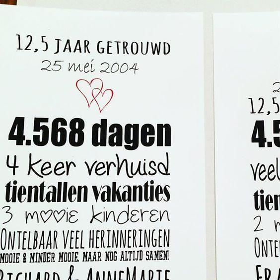 kadotips 12 5 jaar getrouwd Favoriete Kado 12 5 Jaar Getrouwd Geld @VW24  kadotips 12 5 jaar getrouwd