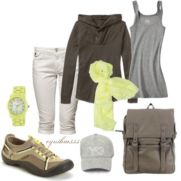 Sporty, Around Town, created by cynthia335 (If only I was serious about working out...)