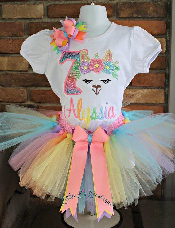 Llama 5th Birthday Outfit Girl Llama Birthday Shirt Llama Birthday Outfit Llama 5th Birthday  5th Birthday Girl Outfit Llama Shirt