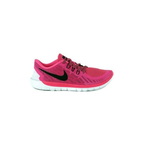 Nike FREE 5.0   GS Running Trainers ($76) ❤ liked on Polyvore featuring shoes, multicolour, running shoes, women, nike footwear, colorful shoes, nike, multi colored shoes and multicolor shoes