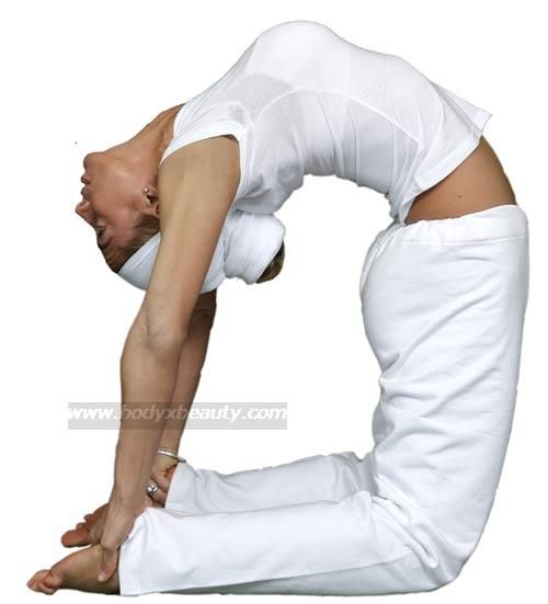 Best Kundalini Yoga Poses:  Camel Pose with Breath of Fire, very rejuvenating!