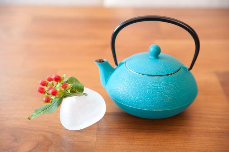 Japanese tea pot made in Iwate, Japan