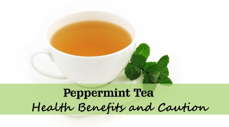 cup- peppermint tea
