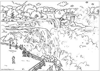 Around The World Coloring Pages