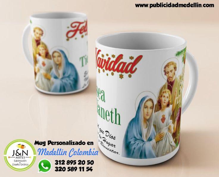 Mug Personalizado en Medellin - Navidad