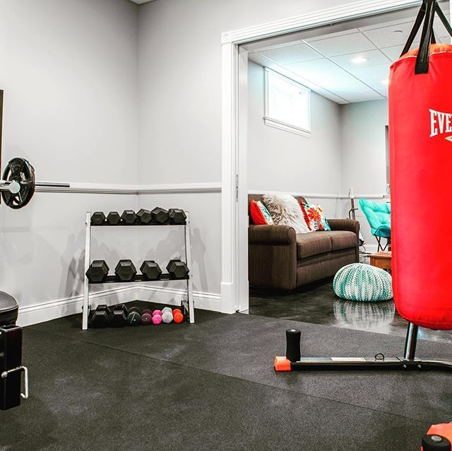 Best Basement Subfloor Materials For Your Man Cave: Rubber Tiles, Rubber Trailer And Rubber Gym Flooring