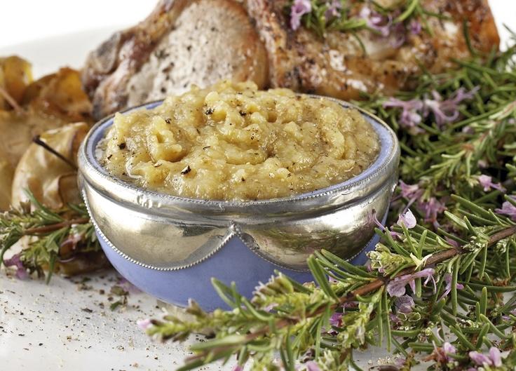 Roasted Apple Sauce | Christmas Food | Pinterest