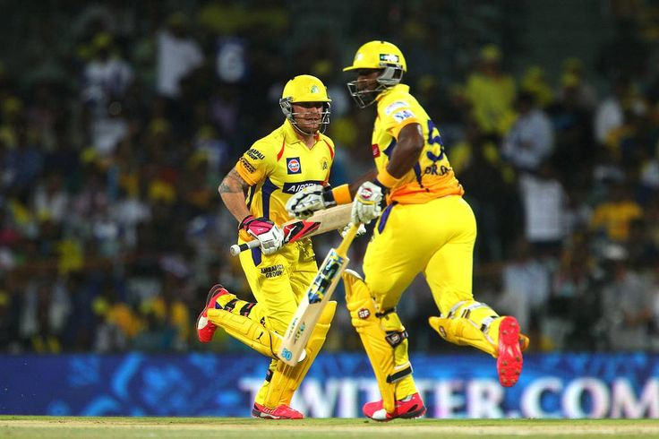 After being put into bat by Kolkata Knight Riders, Chennai Super Kings openers Brendon McCullum and Dwayne Smith raced to 42 inside five overs.