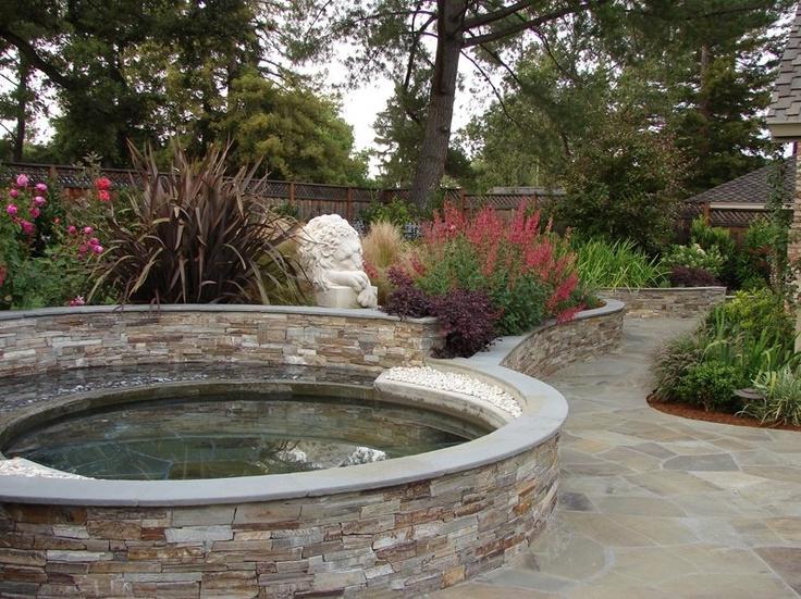 12 best garden pond images on pinterest backyard ponds for Koi pool water gardens thornton