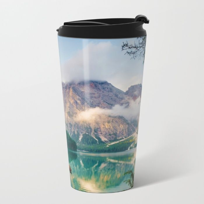 The Place To Be III Metal Travel Mug by Mixed Imagery | Society6