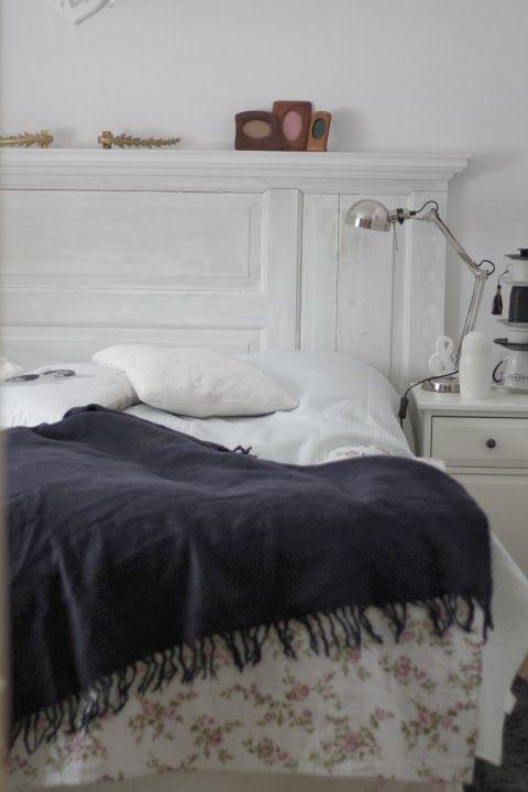 Sevedsgård1 : DIY Bygg sänggavel av gammal spegeldörr!