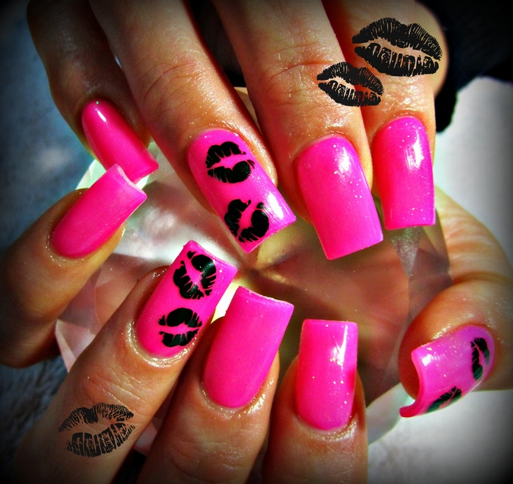 Acrylic Nail Kiss: 72 Best Neon Collection Images On Pinterest