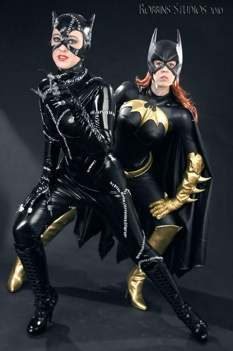#Cosplay: #Batgirl & #Catwoman by Bukket1138 on deviantART ...