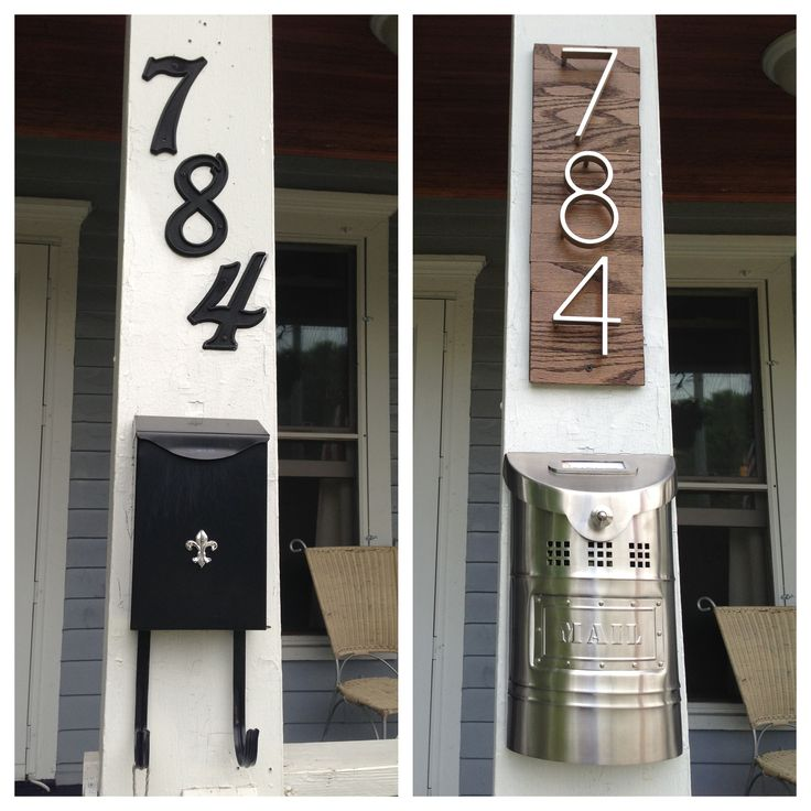 Best 25+ Diy house numbers ideas on Pinterest | Address numbers ...
