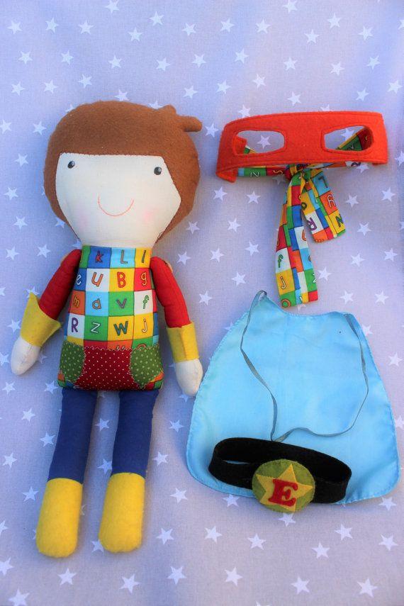 Muñeco Niño superhéroe muñeca personalizado súper por Pittitus