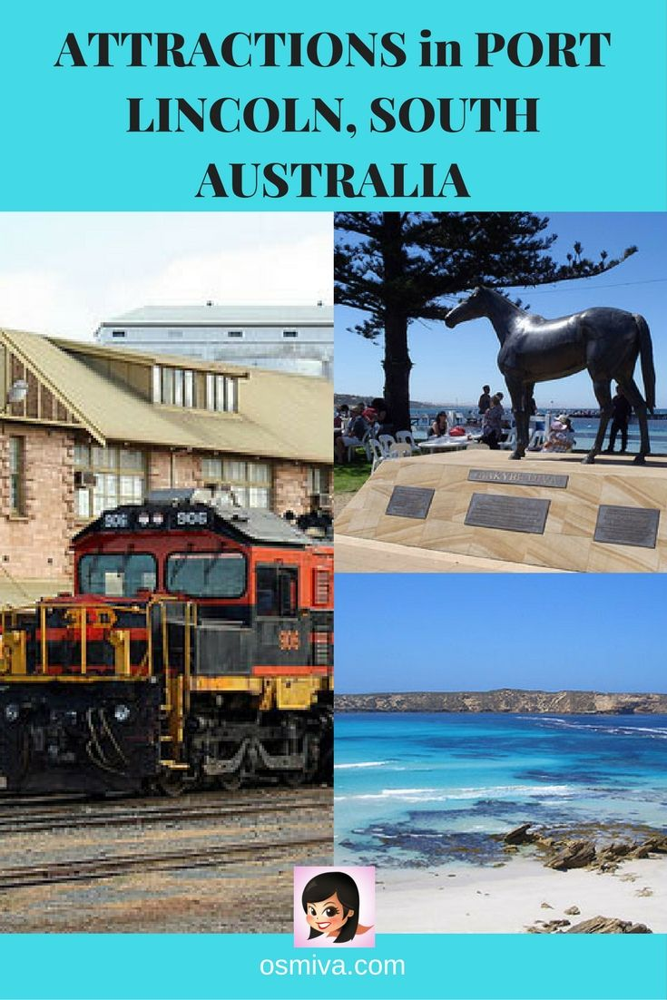 Port Lincoln, South Australia. Tourist Attractions. Port Lincoln Attractions. Travel Inspiration. Travel Ideas. Tourist Attractions in Australia.
