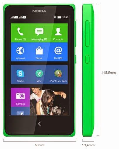 Nokia X HP Android Jelly Bean Murah