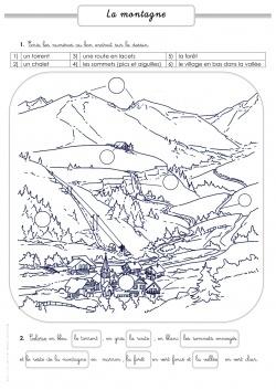 Les paysages (campage, mer, ville, montage)