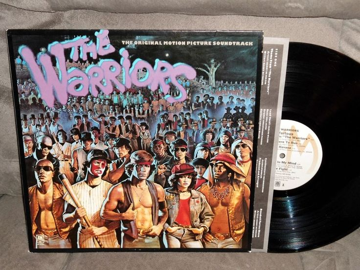 The Warriors Original Motion Picture Soundtrack Ost Lp 79