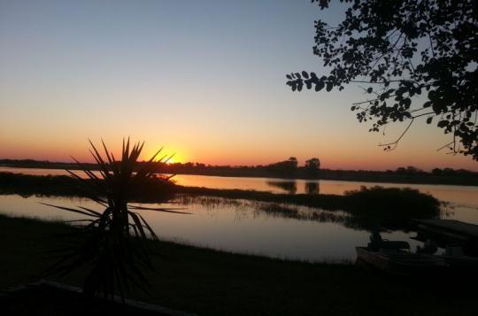 The sunsets at Thamalakane River Lodge are simply amazing (Maun, Botswana)