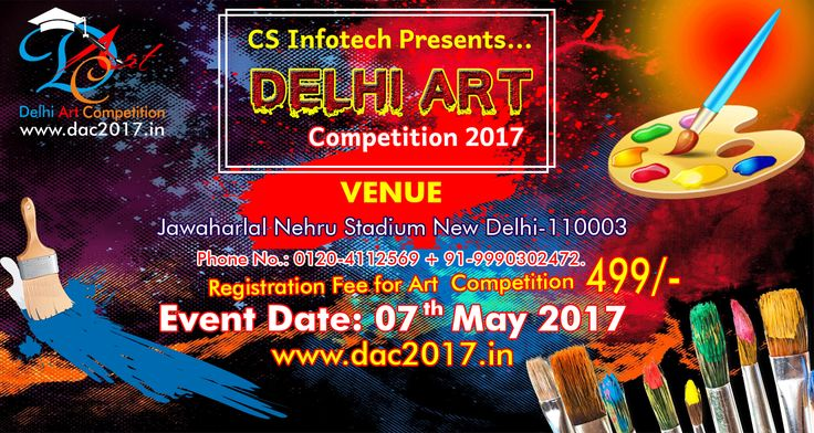 #DAC2017 #DelhiArtCompetition2017 #ArtCompetitionDelhi https://paytm.com/events/Delhi-NCR/Entertainment/Delhi-Art-Competition-2017/110330 Now everyone can register for the event at Paytm Entertainment